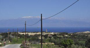 Dieser Ausblick eröffnet sich von Kastri aus – der Hauptstadt von Gavdos.