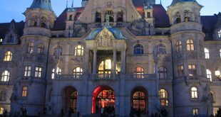 Neues Rathaus Hannover. 8.Januar 2014, 16:50