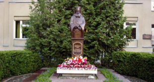Das Denkmal Lukas dem Großen in der Stadt Tambow