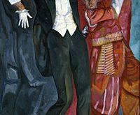 Б.Григорьев. Портрет В.Мейерхольда, 1916. Wikipedia